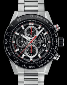 Tag Heuer - Carrera Calibre Heuer 01 - CAR2A1AW-0