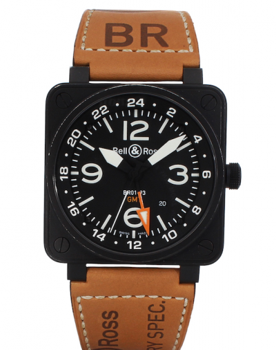Bell And Ross - Aviation - BR01-93-GMT